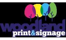 Woodland Print & Signage Logo
